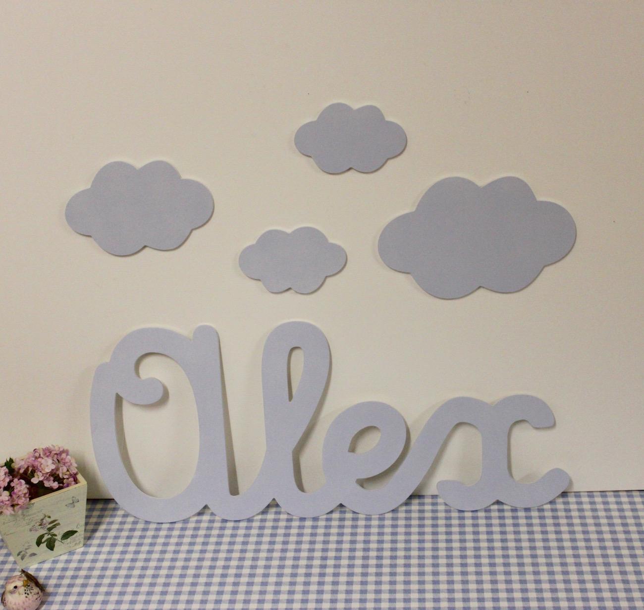Letras decorativas infantiles para poner en la pared - Letras decorativas para ninos ...
