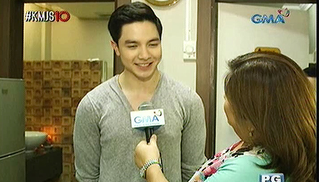 Alden Richards, Interview after his first date with Yaya Dub
