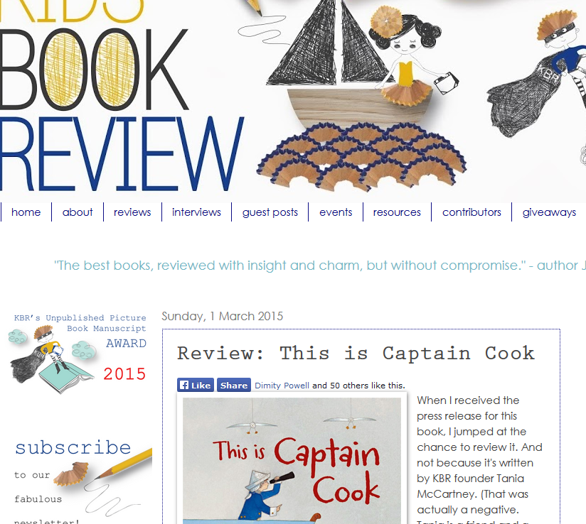 http://www.kids-bookreview.com/2015/03/review-this-is-captain-cook.html