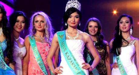 Miss Kazakhstan 2012 winner  Zhazira Nurimbetova