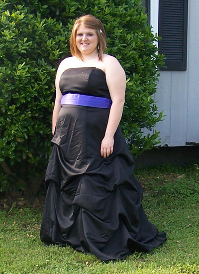 formal dress for fat lady