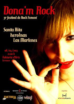festival de rock femenino Dona´m Rock.