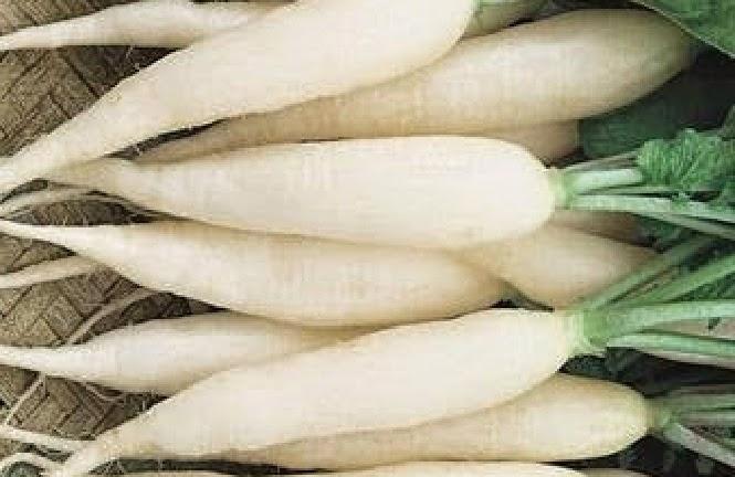 Manfaat Lobak Putih Bagi Kesehatan