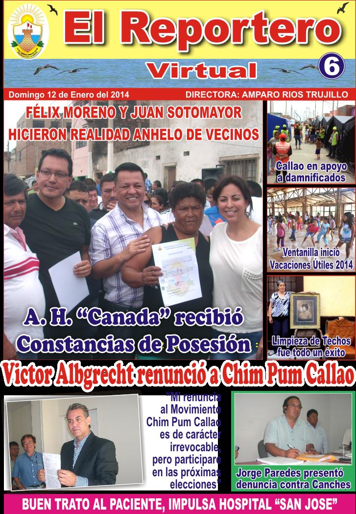 EL REPORTERO VIRTUAL Nº 6