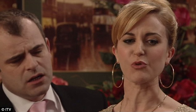 becky mcdonald jets out of coronation street first class