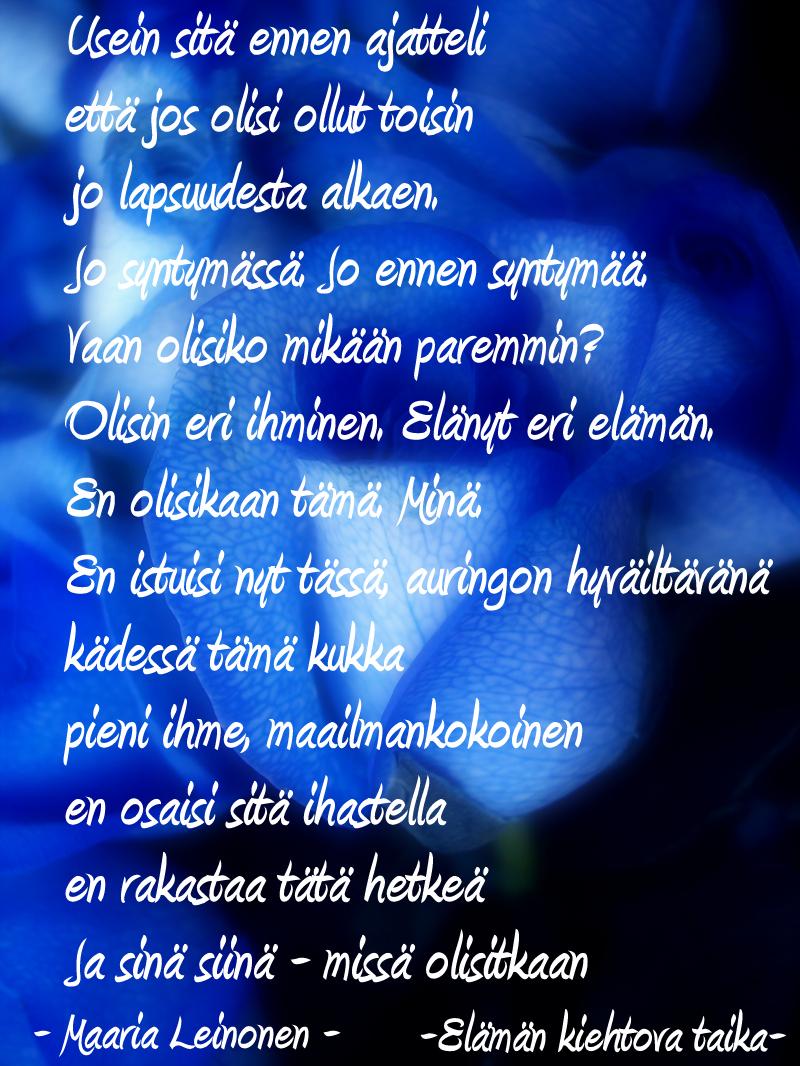 suomi pillua rakkaalle runo