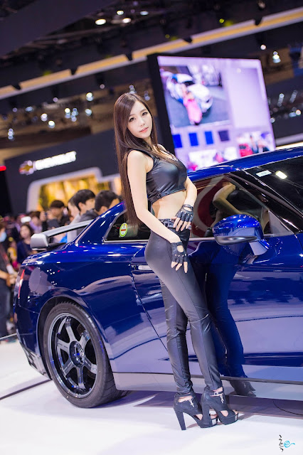 5 Lee Ji Min - Seul Motor Show - very cute asian girl-girlcute4u.blogspot.com