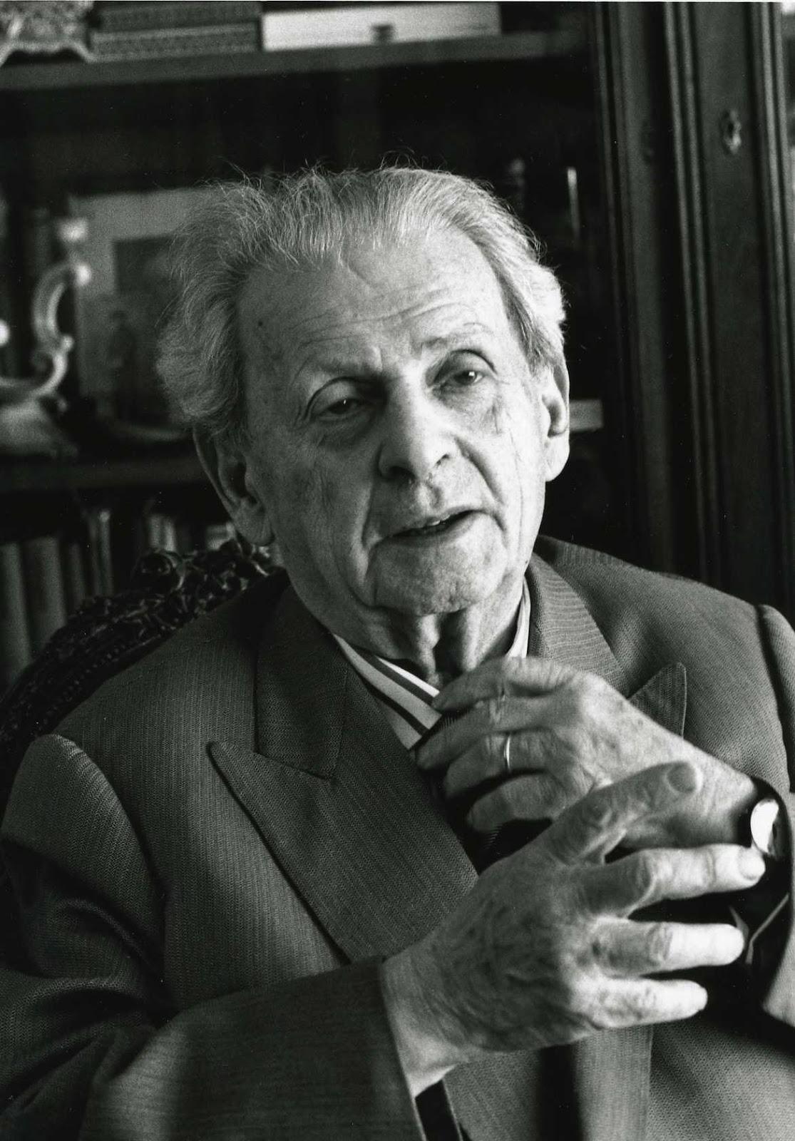 Filósofo judío, discípulo de Heidegger, responsabilidad