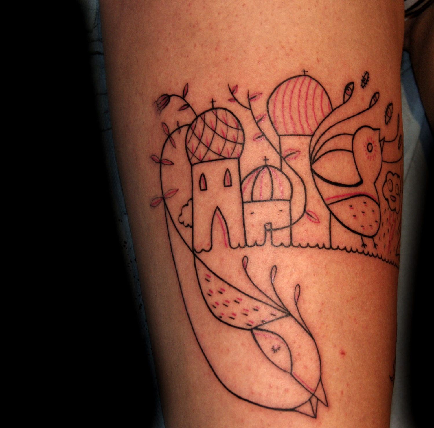 Displaying 19> Images For - Norwegian Flag Tattoo...