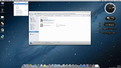 Windows 7 Using Mountain Lion Style