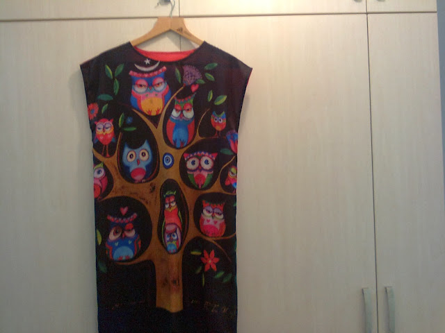 baykuslu elbise