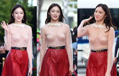 Lee Sung Kyung Dikecam Netizen Gara-Gara Pakai Baju Transparan