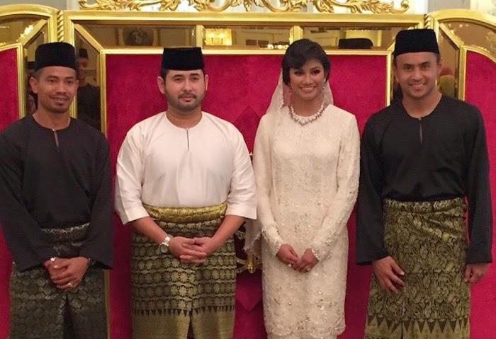 Pernikahan Tunku Ismail Sultan Ibrahim Dan Cik Puan Khaleeda Bustamam