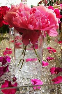 Centros de Mesa Románticos Rosados