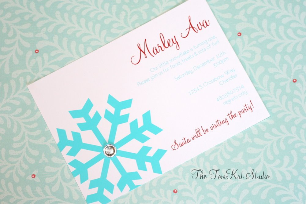 Project Nursery Little Snowflake 1st Birthday Party The TomKat
