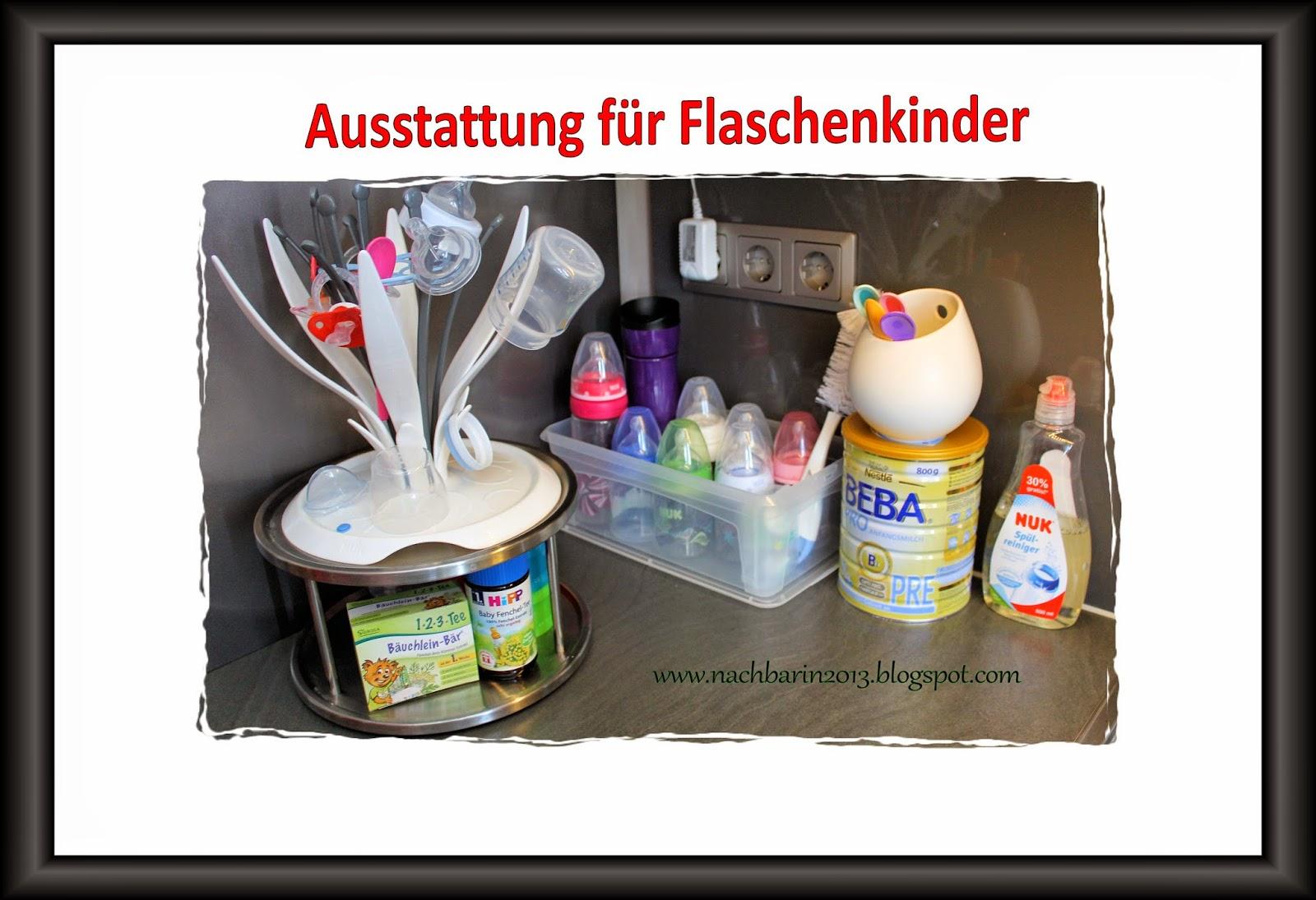 Die lästige Nachbarin: Flaschenkinder: Equipment & Organisation ...