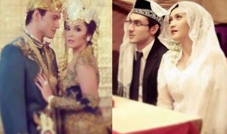 Foto Pernikahan Indra dan Revalina