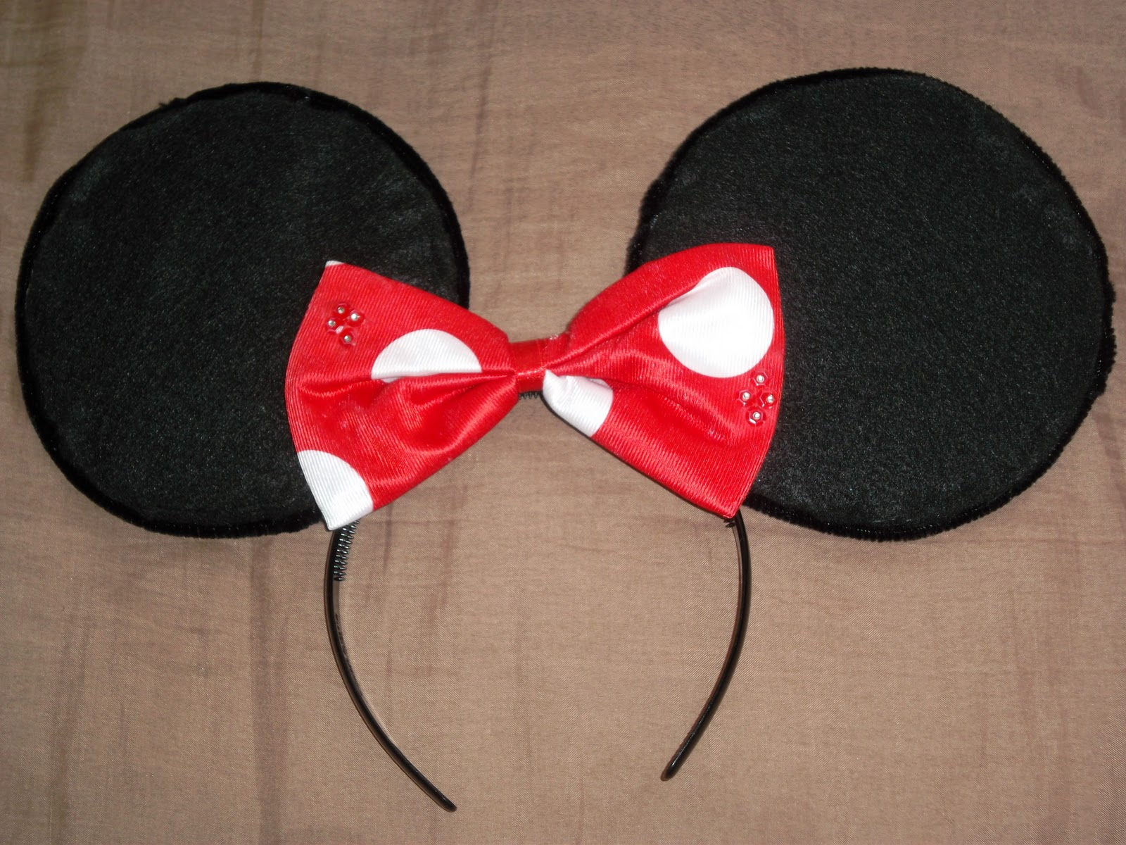I M Here Diy Minnie Mouse Ears