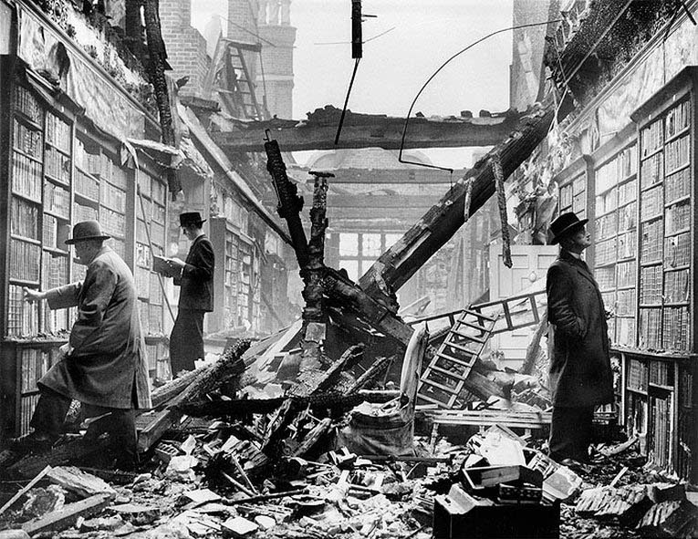 the damages caused by world war ii