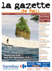 la Gazette de Bali mars 2013