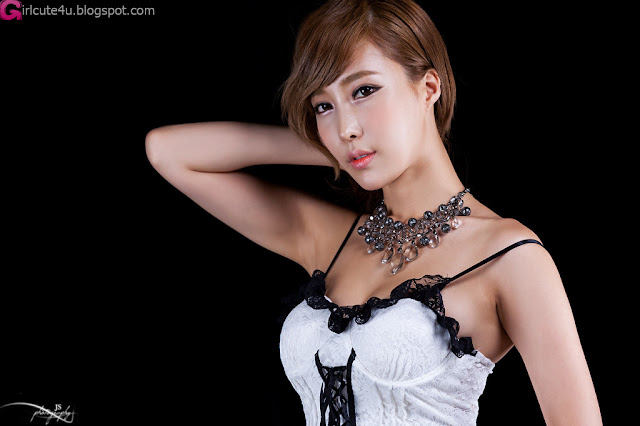 1 Sexy Im Min Young in Bustier-Very cute asian girl - girlcute4u.blogspot.com