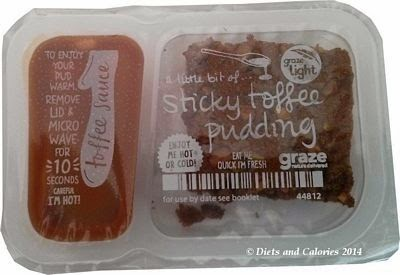 Graze box snack Sticky Toffee Pudding