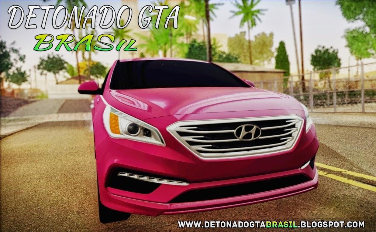 GTA SA - Hyundai Sonata 2015