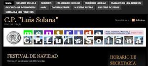 Página web de nuestro colegio