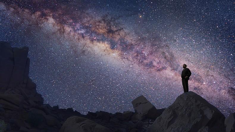 """""""Somos uma maneira do Cosmos conhecer a si mesmo"""" (Carl Sagan)"""