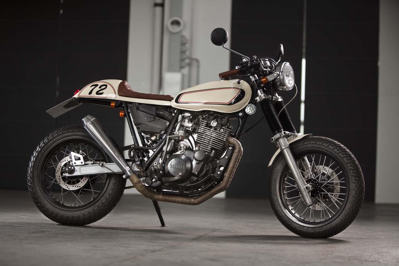 Yamaha Xte Cafe Racer