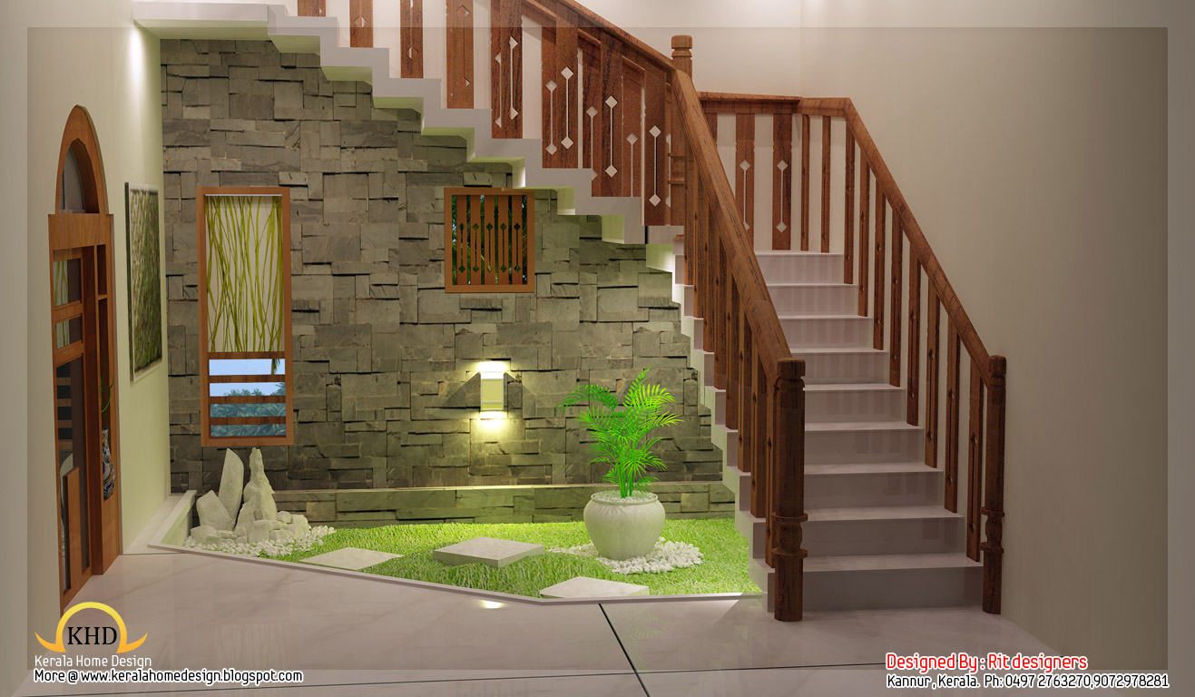 Beautiful 3d interior designs home appliance for Kerala interior designs