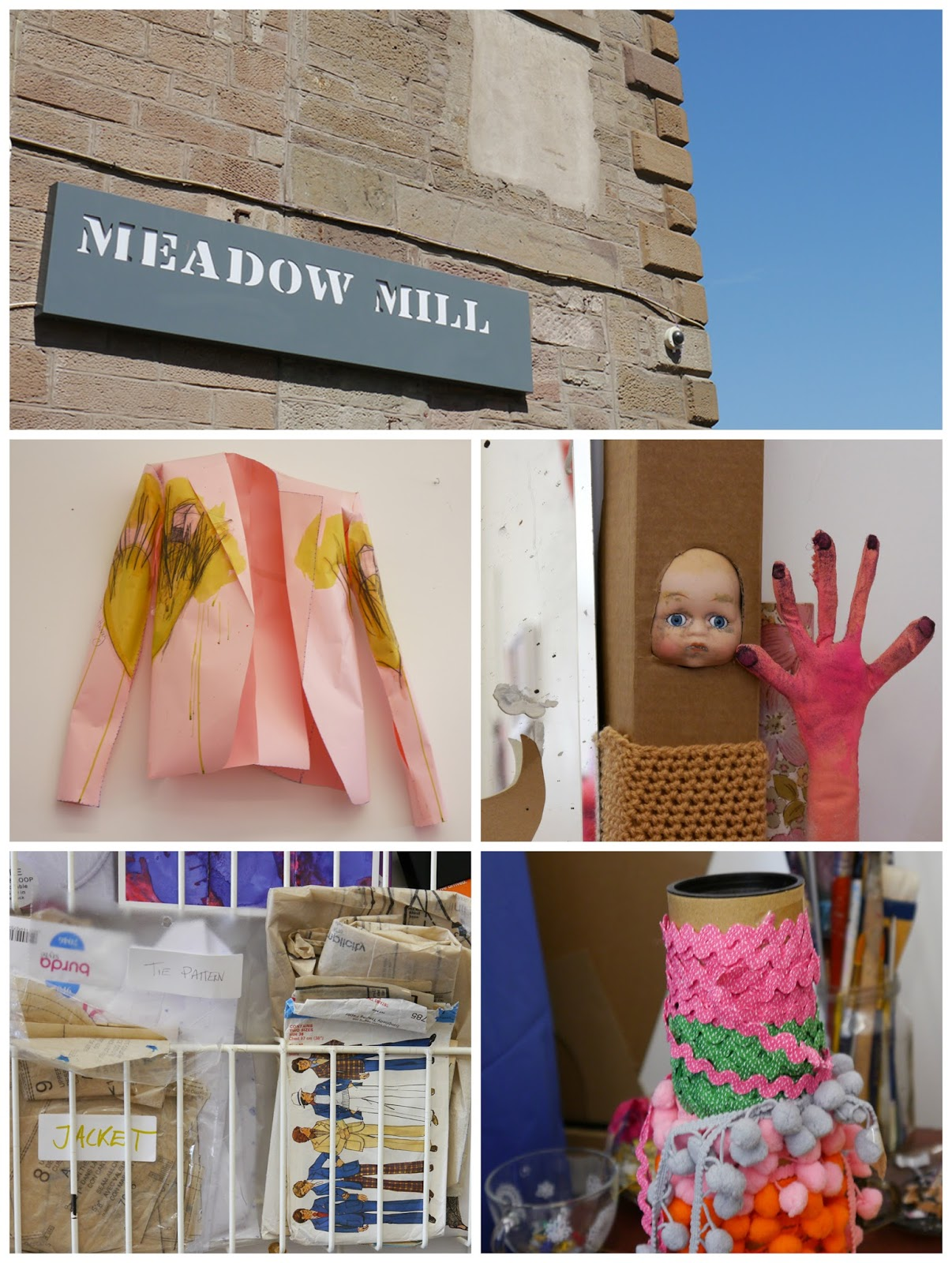 Dundee, Wasps Studios, Meadow Mill, artist studio, studio visit, Jack(et), Jill Skulina, blogging duo, Scottish Bloggers, Dundee Bloggers, jackets, embroidery, customisation, custom orders, wearable art, Louise Ritchie, studio details