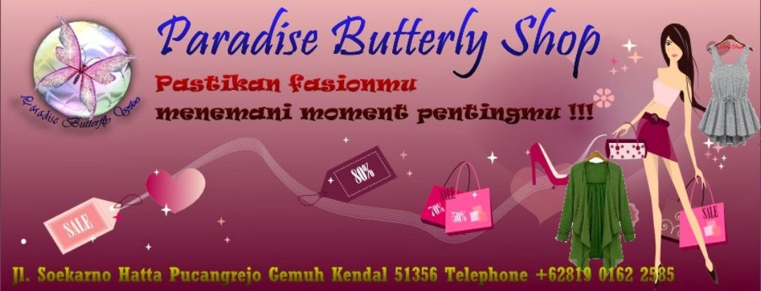 Paradise Butterfly Shop