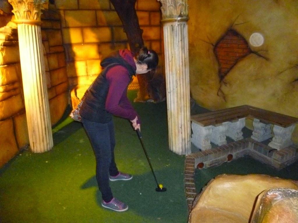 Indoor Adventure Golf at Manning's Amusements in Felixstowe