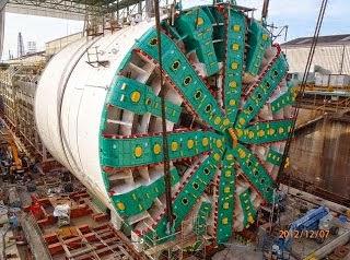 Mesin Terbesar di Dunia - Bertha