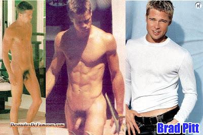 Brad Pitt Desnudo