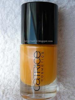 Catrice 865 Yellow Sub-Mandarin