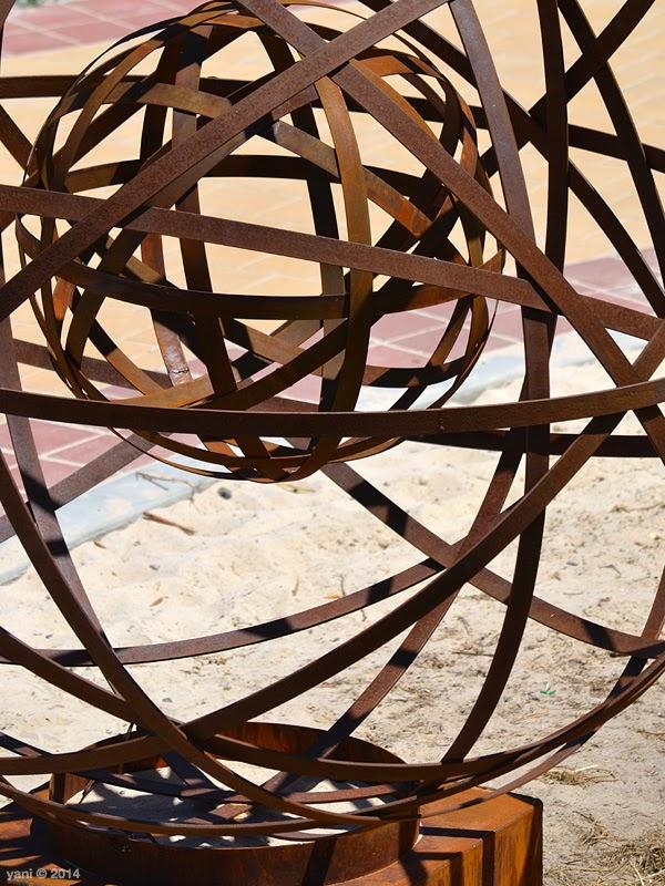 rusty spheres