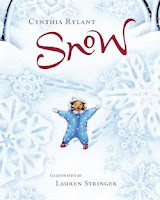 bookcover of SNOW by Cynthia Rylant