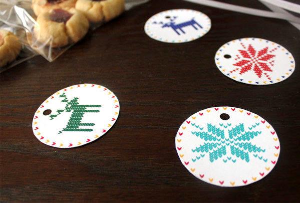 imprimibles etiquetas navideñas