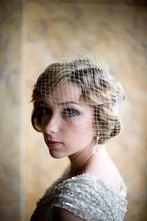 wedding hairstyles with veils for short hair