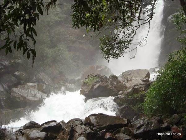 Hanumangundi falls Karnataka Tourism