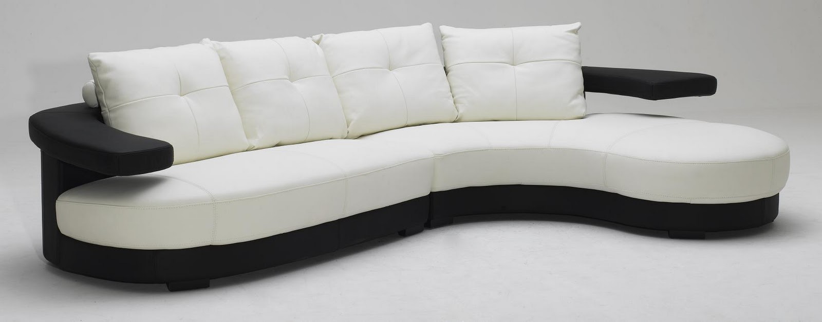 Remarkable Black and White Sectional Sofa 1600 x 627 · 63 kB · jpeg