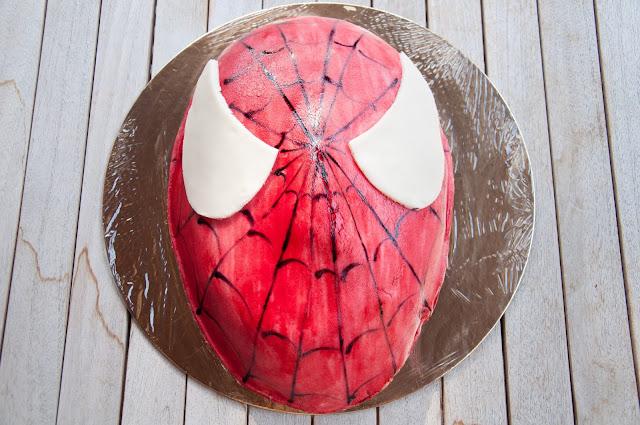 torta uomo ragno