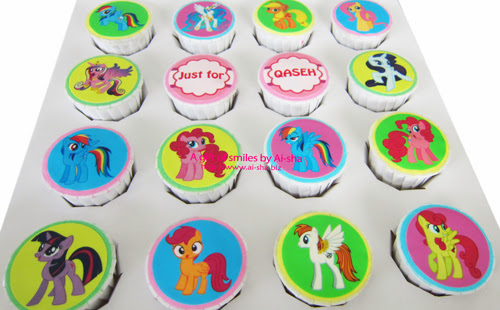 Birthday Cupcake Edible Image My Little Pony