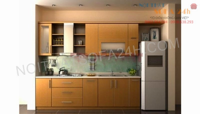 Tủ bếp TB054