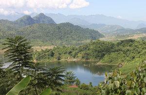 Landscape in Pa Há (or Nậm Tăm)