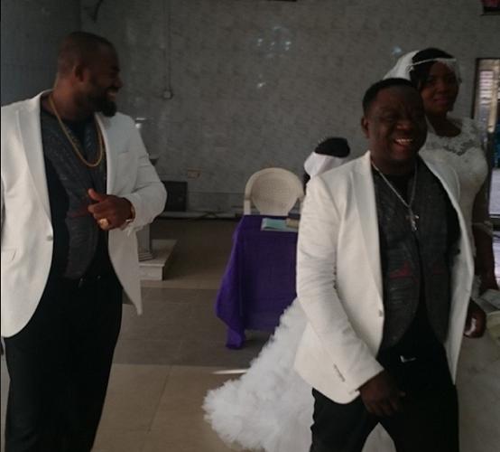 John Okafor marries his longtime wife - Stella Maris Okafor