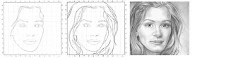تعليم رسم حدود الوجه