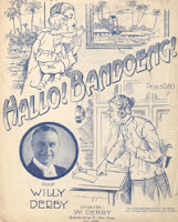 Willy Derby Hallo Bandoeng 1929